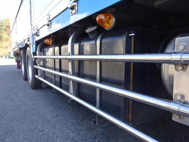 三菱 H20 スーパーグレート 4軸低床 低温冷凍ウィング 画像26