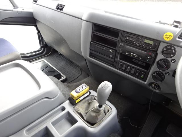 三菱 H27 ファイター 増トン 低温冷凍車 格納PG 画像21