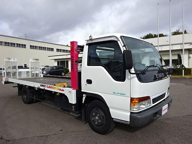 いすゞ H9 エルフ キャリアカー ハイジャッキ 荷台延長スライド 車検付 画像4