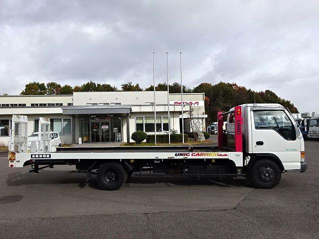 いすゞ H9 エルフ キャリアカー ハイジャッキ 荷台延長スライド 車検付 画像5