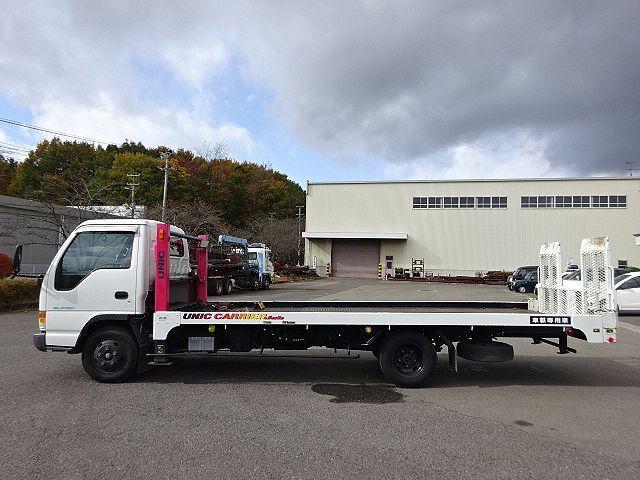 いすゞ H9 エルフ キャリアカー ハイジャッキ 荷台延長スライド 車検付 画像6