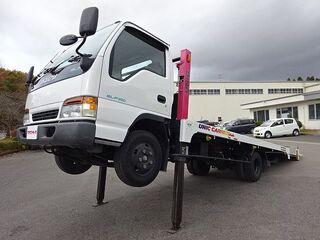 H9 エルフ キャリアカー ハイジャッキ 荷台延長スライド 車検付