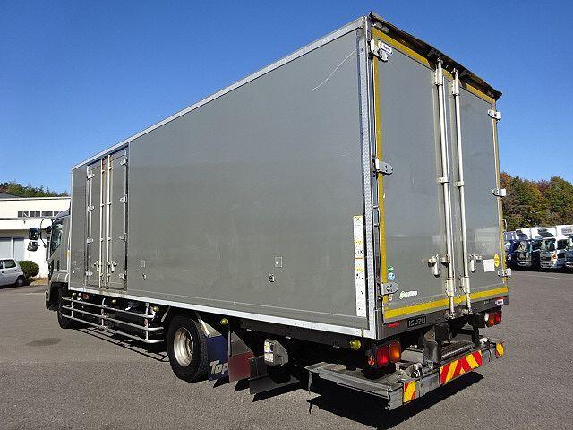 いすゞ H27 フォワード 増トン ワイド 低温冷凍車 格納PG 画像6