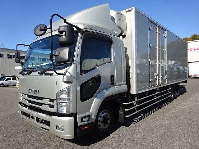 いすゞ H27 フォワード 増トン ワイド 低温冷凍車 格納PG 画像1
