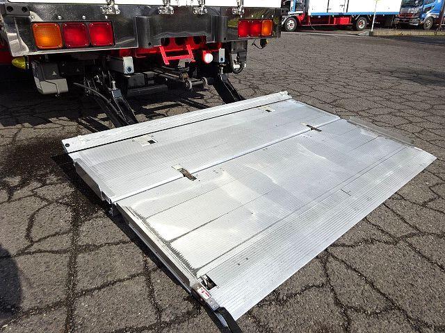 いすゞ H24 ギガ ハイルーフ 4軸低床アルミウィング 格納PG 画像9