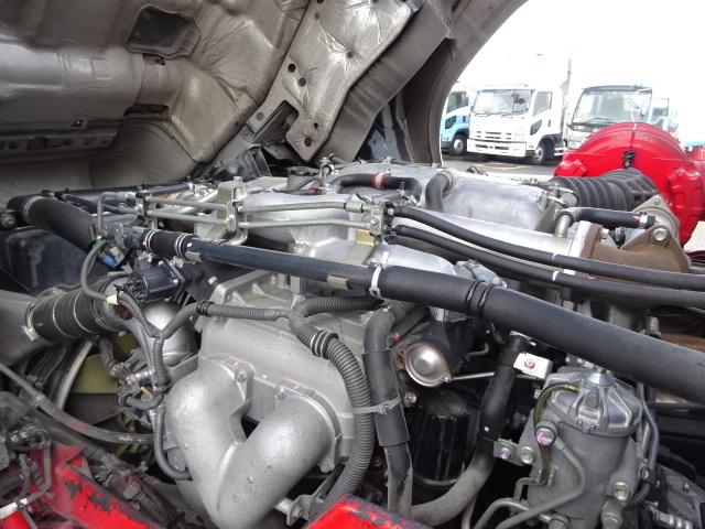 いすゞ H24 ギガ ハイルーフ 4軸低床アルミウィング 格納PG 画像17