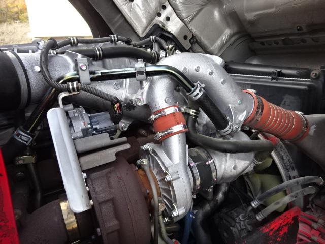 いすゞ H24 ギガ ハイルーフ 4軸低床アルミウィング 格納PG 画像18