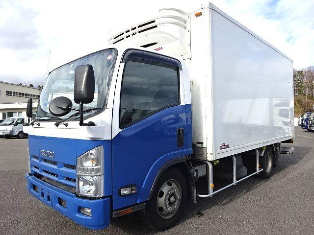 いすゞ H24 エルフ ワイド ロング 低温冷凍車 格納PG 画像1