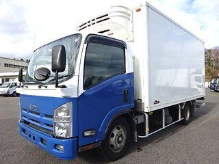 H24 エルフ ワイド ロング 低温冷凍車 格納PG