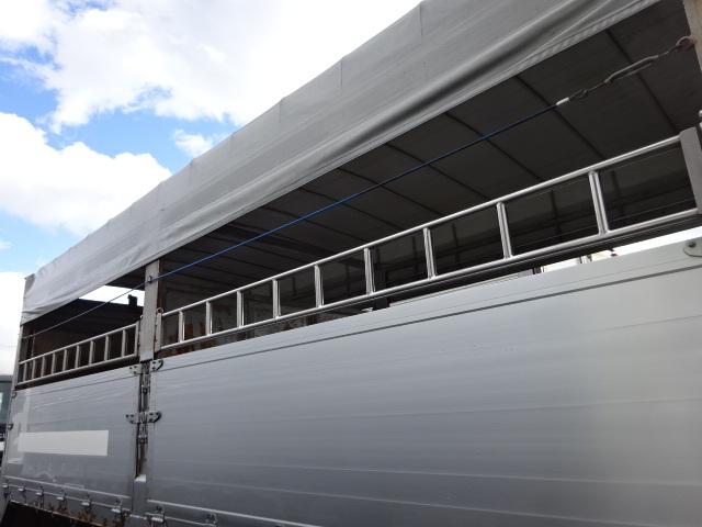 三菱 H21 ファイター 増トン 家畜運搬車 画像4
