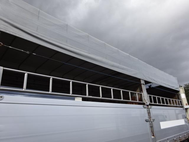 三菱 H21 ファイター 増トン 家畜運搬車 画像3