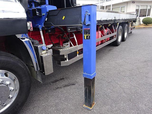 UD H25 クオン 3軸 2デフ アルミブロック 4段クレーン 車検付 画像10