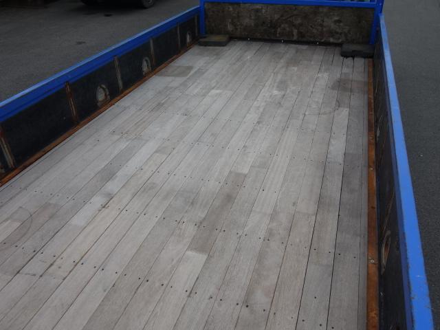 いすゞ H15 フォワード 平 5段クレーン 荷台床新品張替え 画像13