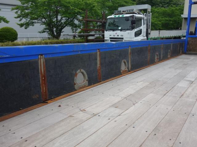 いすゞ H15 フォワード 平 5段クレーン 荷台床新品張替え 画像11