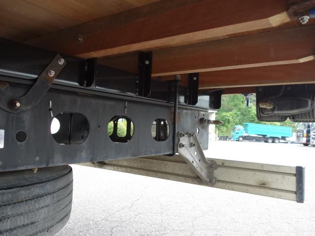 いすゞ H15 フォワード 平 5段クレーン 荷台床新品張替え 画像21