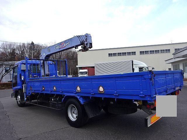 いすゞ H15 フォワード 平 5段クレーン 車検付  荷台床新品張替え 画像6