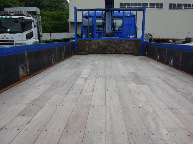 いすゞ H15 フォワード 平 5段クレーン 荷台床新品張替え 画像10