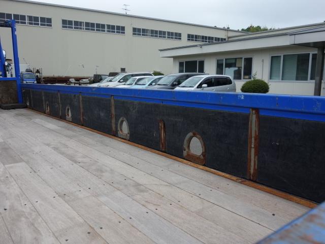 いすゞ H15 フォワード 平 5段クレーン 荷台床新品張替え 画像12
