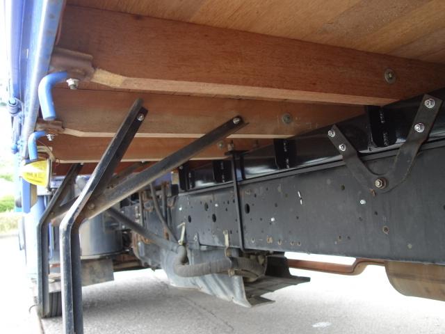 いすゞ H15 フォワード 平 5段クレーン 荷台床新品張替え 画像20