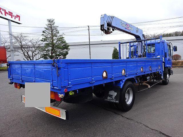 いすゞ H15 フォワード 平 5段クレーン 車検付  荷台床新品張替え 画像4