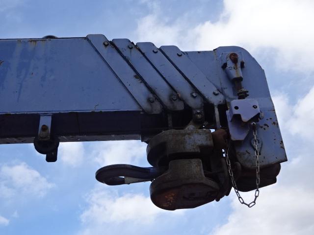 いすゞ H15 フォワード 平 5段クレーン 車検付  荷台床新品張替え 画像11