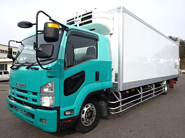 いすゞ H21 フォワード 増トン ワイド低温冷凍車 PG 画像1
