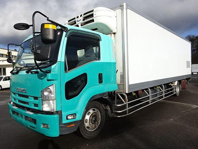 いすゞ H21 フォワード 増トン ワイド低温冷凍車 PG