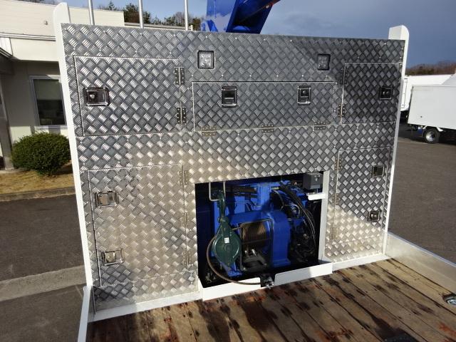 いすゞ R2 いすゞ ギガ 4軸低床 セルフ 4段クレーン 車検付 画像11