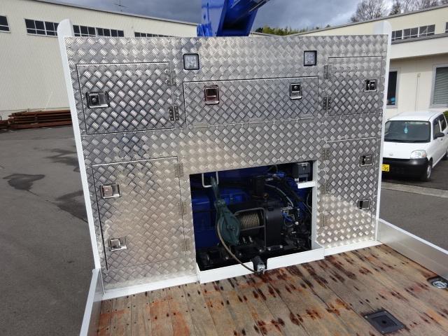 いすゞ R2 いすゞ ギガ 4軸低床 セルフ 4段クレーン 歩み板付 画像13