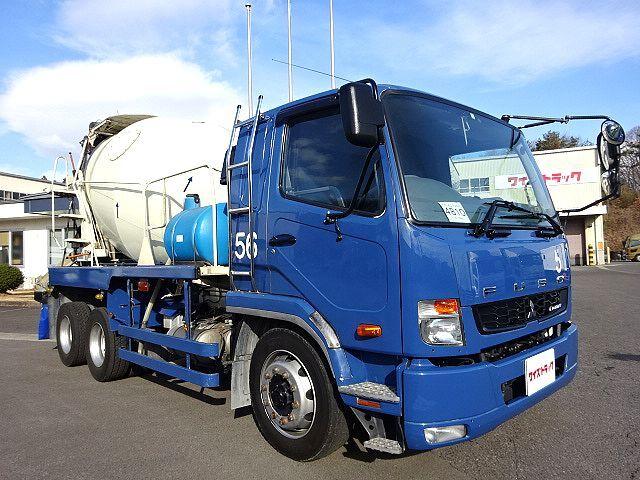 三菱 H26 ファイター 増トン コンクリートミキサー車 車検付 画像3