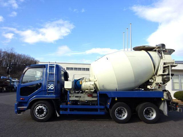 三菱 H26 ファイター 増トン コンクリートミキサー車 車検付 画像4