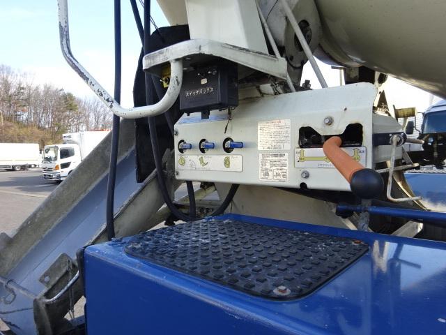 三菱 H26 ファイター 増トン コンクリートミキサー車 車検付 画像16