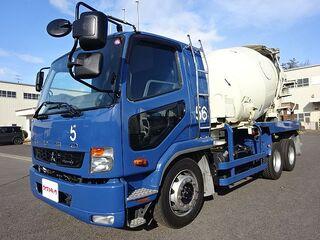 H26 ファイター 増トン コンクリートミキサー車