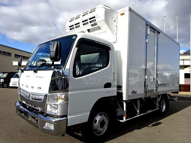 三菱 R2 キャンター ワイド ロング 低温冷凍車 格納PG 画像1