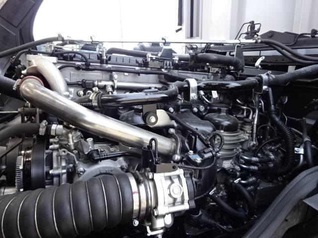 三菱 H29 スーパーグレート 4軸低床アルミウィング 画像17