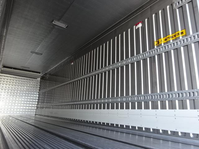 三菱 R1 スーパーグレート 4軸低床冷凍車 画像12