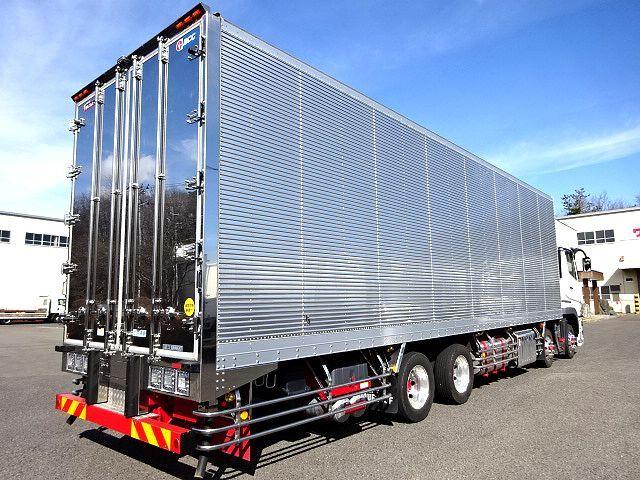三菱 R1 スーパーグレート 4軸低床冷凍車 画像7