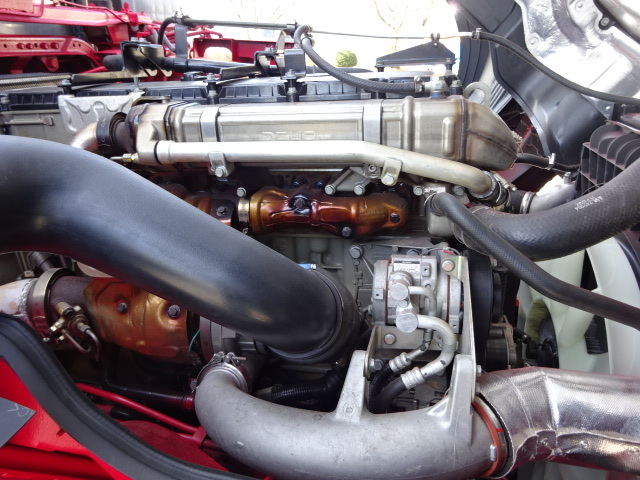 三菱 R1 スーパーグレート 4軸低床冷凍車 画像21