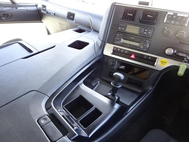 三菱 R1 スーパーグレート 4軸低床冷凍車 画像25