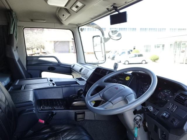 三菱 H24 スーパーグレート 3軸 低温冷凍車 画像22