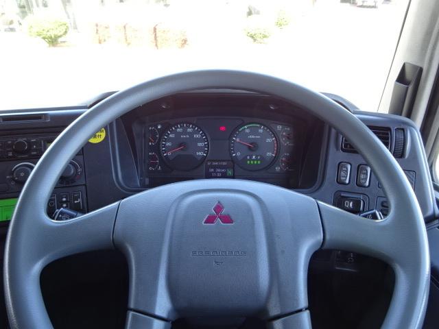 三菱 H24 スーパーグレート 3軸 低温冷凍車 画像23