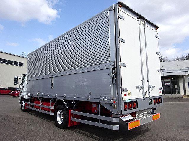 三菱 H17 ファイター 増トン セミワイド アルミウィング 車検付 画像6
