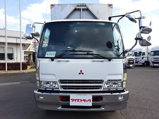 三菱 H17 ファイター 増トン セミワイド アルミウィング 車検付 画像2