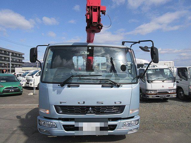 三菱 H27 ファイター ワイド 平 3段クレーン 車検付 画像2