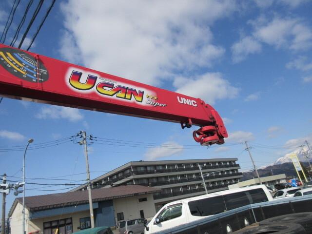 三菱 H27 ファイター ワイド 平 3段クレーン 車検付 画像10