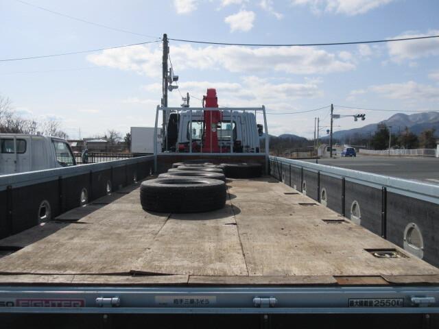 三菱 H27 ファイター ワイド 平 3段クレーン 車検付 画像18