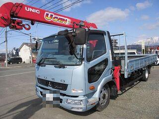 H27 ファイター ワイド 平 3段クレーン 車検付