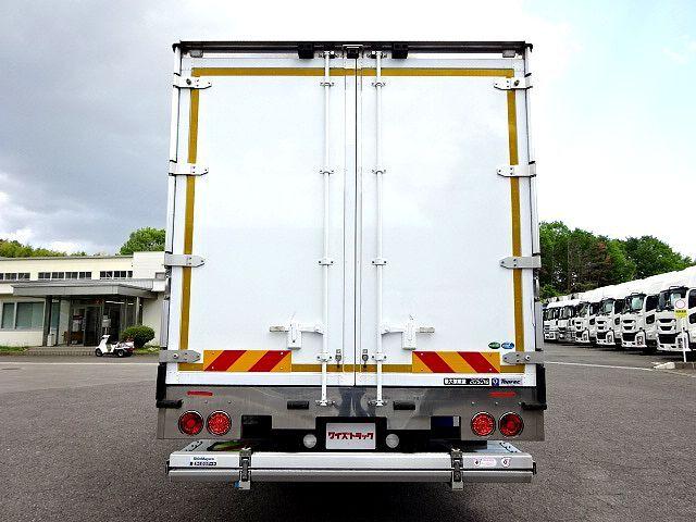 三菱 H30 ファイター ワイド 低温冷凍車 格納PG 画像8
