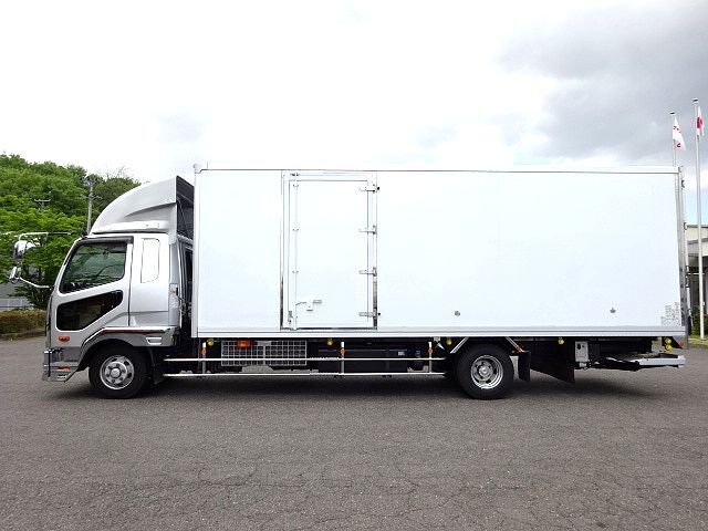 三菱 H30 ファイター ワイド 低温冷凍車 格納PG 画像4