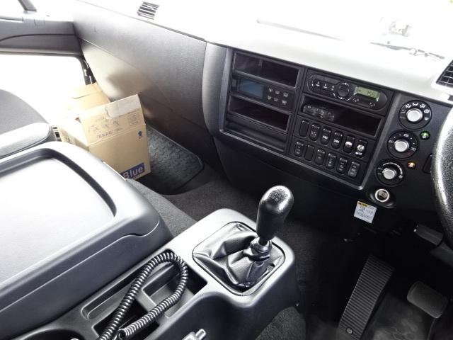 三菱 H30 ファイター ワイド 低温冷凍車 格納PG 画像23
